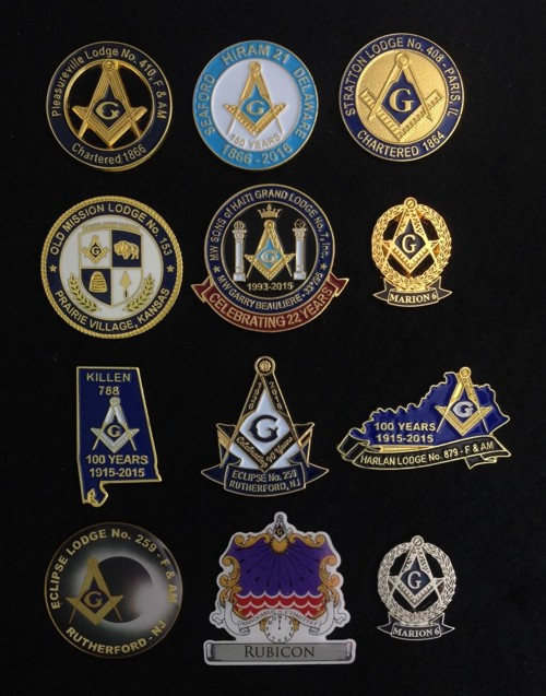 Custom Made Masonic Lapel Pins Fratline