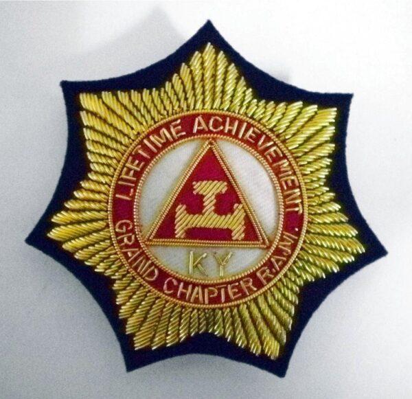Custom Hand Embroidered Crest Fratline