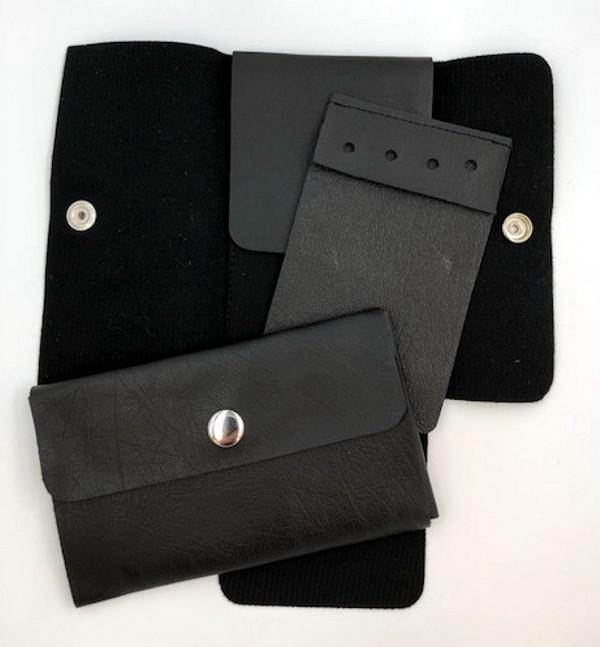 Pocket Jewel Case Holder Black New For Sale