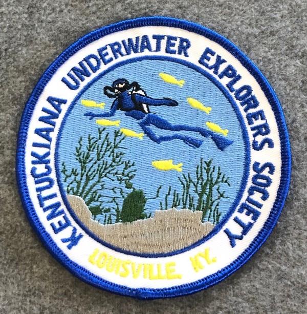 Kentuckiana Underwater Explorers Patch