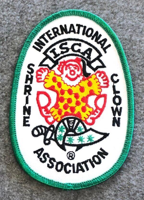 International Shrine Clown Association Patch