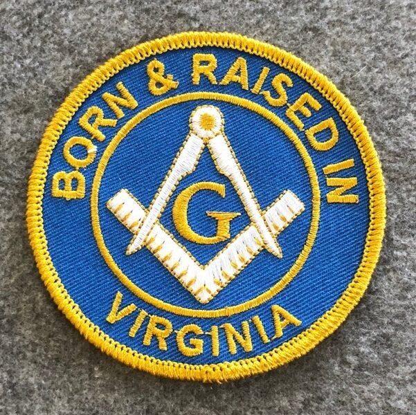 Virginia Masonic Patch
