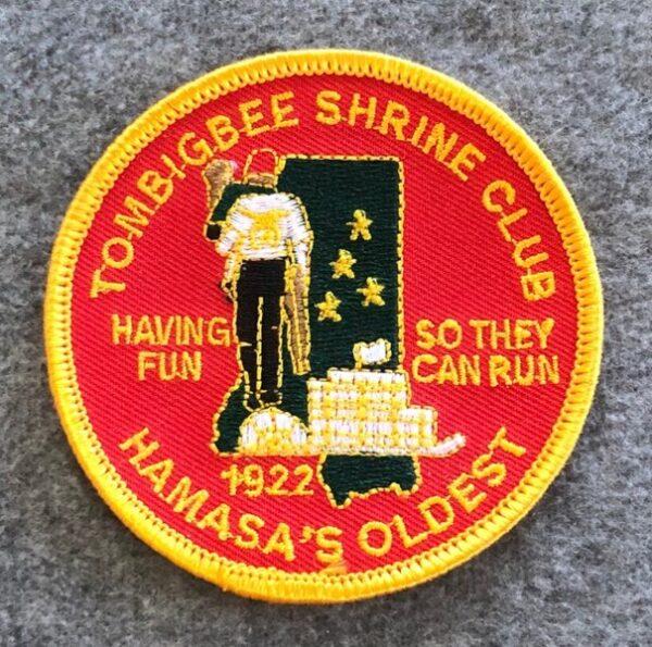 Tombigbee Shrine Club Patch