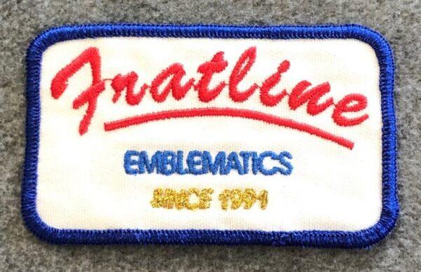 Fratline Custom Embroidered Patch