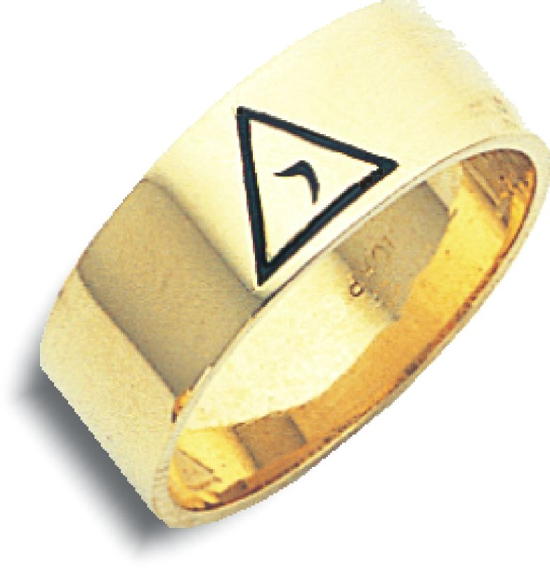 14th Degree Ring in 10K Yellow Gold - 6mm