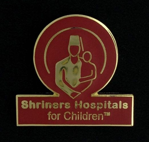 Shriners Hospitals for Children Lapel Pin New