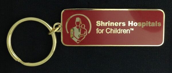 Shriners Hospitals for Children Key Chain Tag New