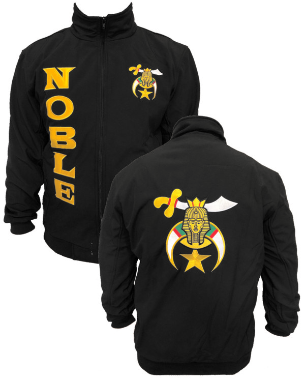 Shrine Shriner Noble Jacket Black Fratline