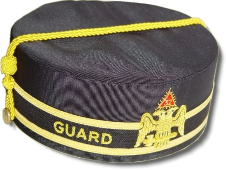 32nd Degree Scottish Rite GUARD Cap (SMJ) - Click Image to Close