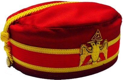 Scottish Rite Meritorious Service Award Cap Northern