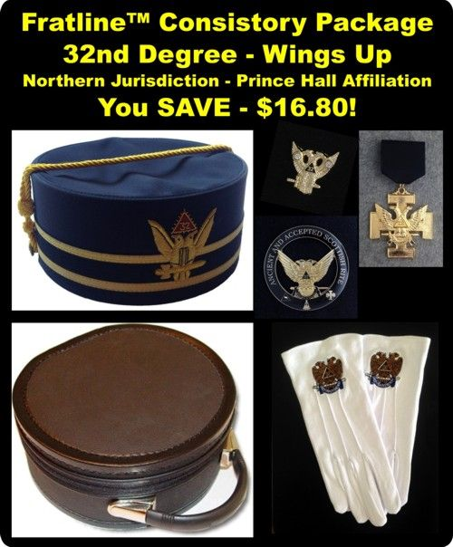 Prince Hall Scottish Rite Consistory Package Nothern