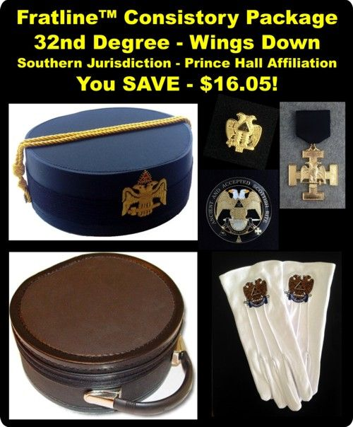 Prince Hall Scottish Rite Consistory Package Southern