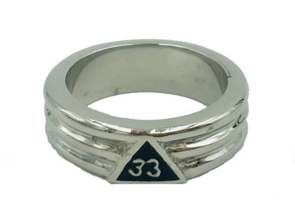 Scottish Rite 33rd Degree Ring Stainless Steel