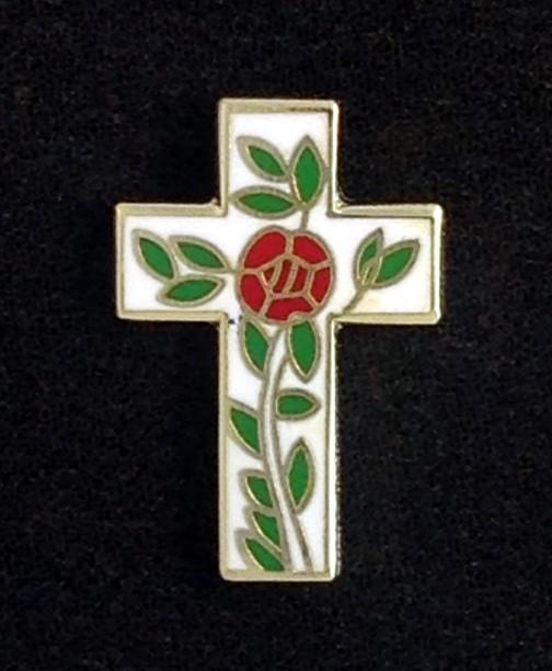 Scottish Rite Rose Croix Lapel Pin New
