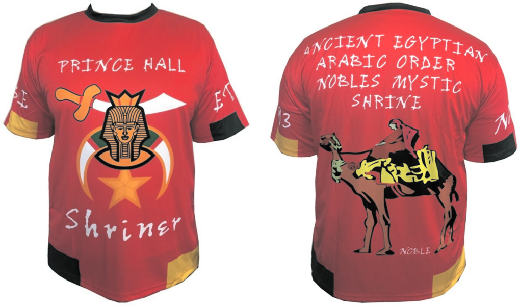 Prince Hall Shriners Jersey (Red)