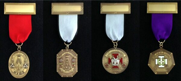 Scottish Rite Past Presiding Officer Jewel