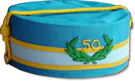 Scottish Rite Cap Crown 32nd Degree 50 Year