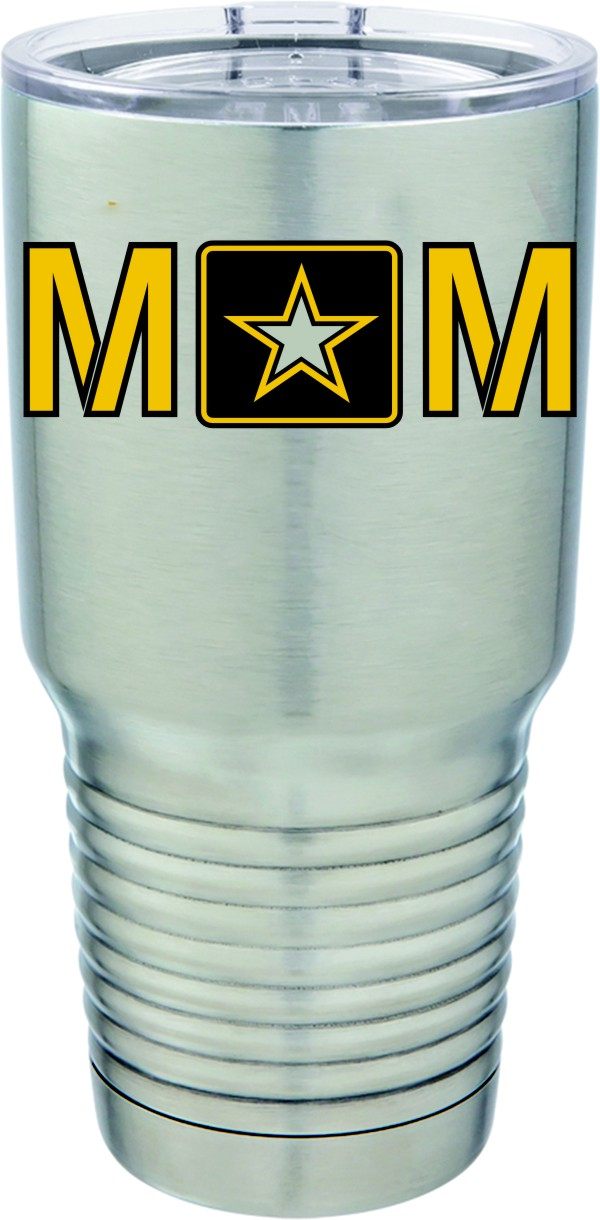 U.S. Army Mom Full Color 30oz. Polar Camel S/S Mug