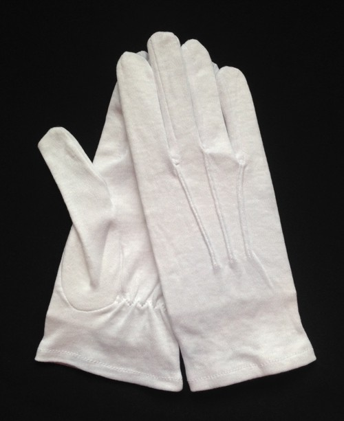 White Cotton Slip-On Glove (Dozen)