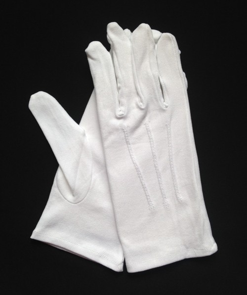White Stretch Nylon Slip-On Glove (Dozen)