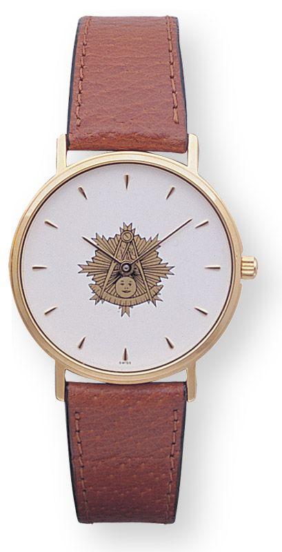 Masonic Past Master Watch New