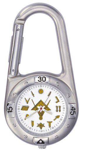 Masonic Blue Lodge Carabiner Watch New Fratline