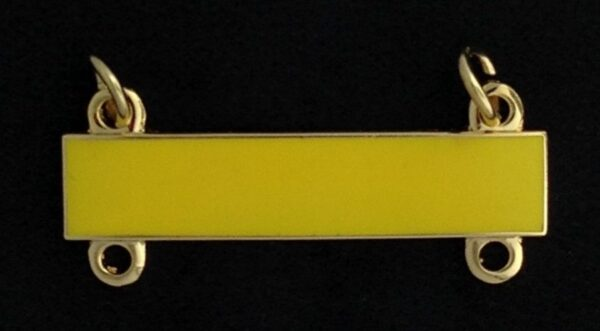 Jewel Bar Yellow Enamel