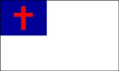 Christian Flag (5' x 8' Nylon)