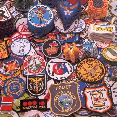 Custom Embroidered Patches Fratline