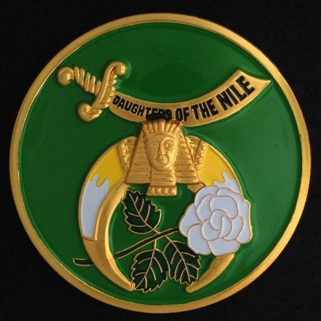 Daughters of the Nile Auto Emblem New For Sale
