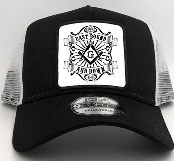Masonic East Bound and Down Cap Hat Black New