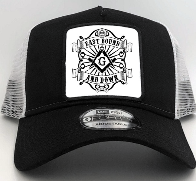 Masonic East Bound & Down® New Era Cap in Black with Square Patch