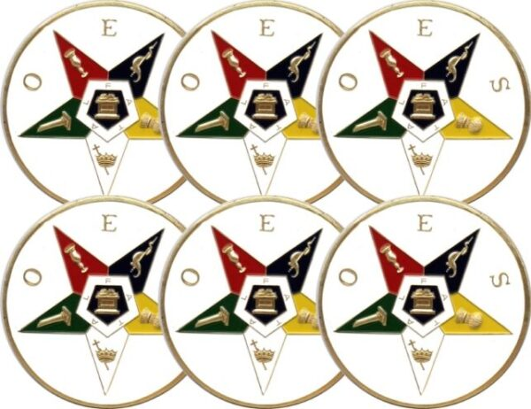 Order of Eastern Star Auto Emblem New