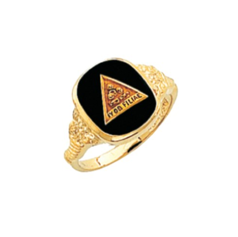 Job's Daughters Ring - 10K Gold