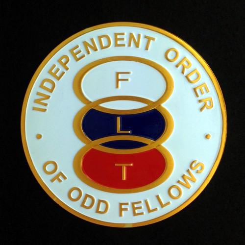 Odd Fellows Auto Emblem New