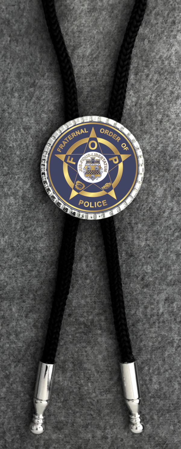 Fraternal Order of Police Bolo Tie New