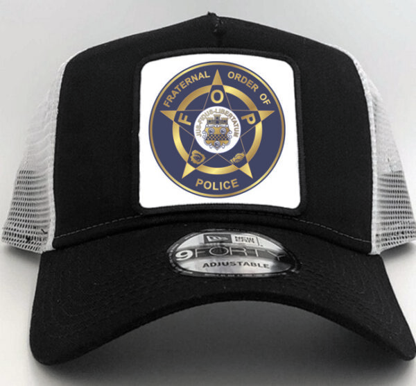 Fraternal Order of Police Cap Hat Black