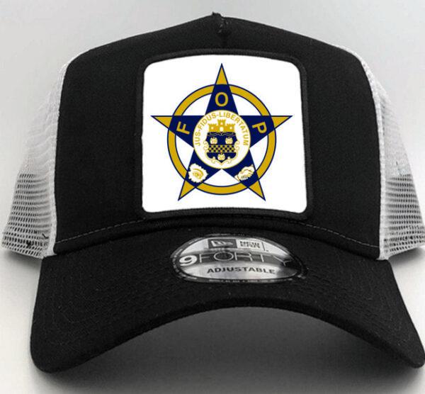 Fraternal Order of Police Cap Hat Black
