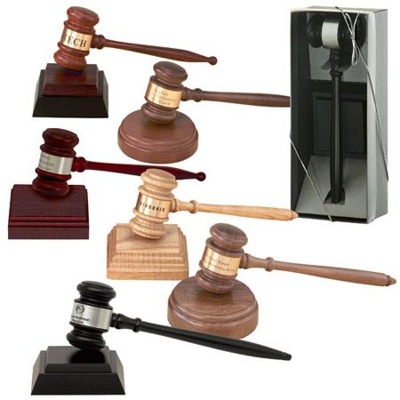 Wood Gavel New For Sale
