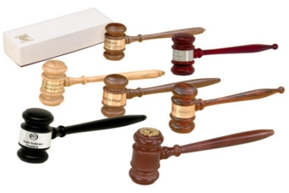"Gavel - Imported Rosewood (10-1/2"")"