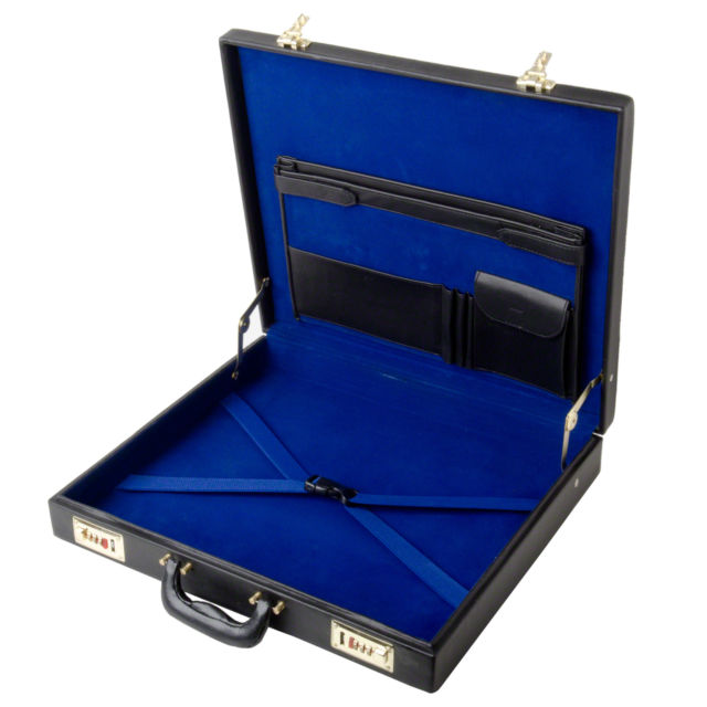 Deluxe Masonic Apron Case - Attache Style