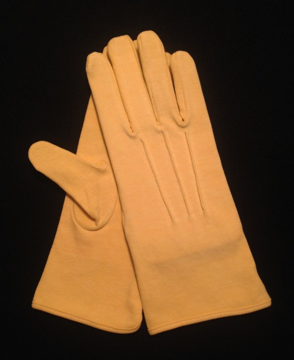 Buff Cotton Slip-On Glove (Pair)