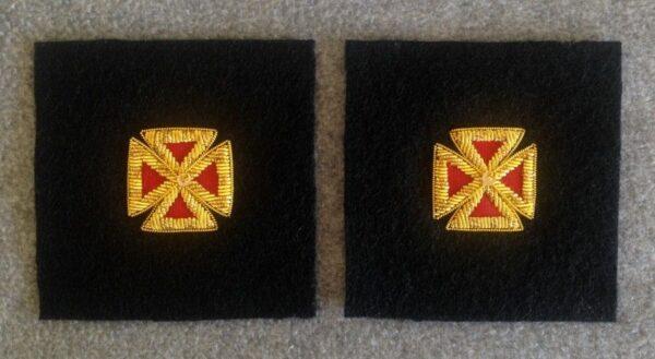 Knight Templar Collar Cross Gold Bullion New