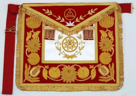 Royal Arch Grand High Priest Apron New