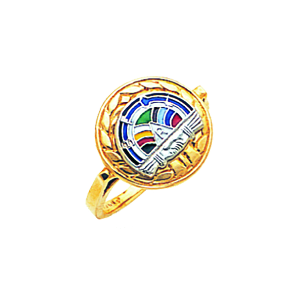 Order of Rainbow Ring - 10K Gold (2)
