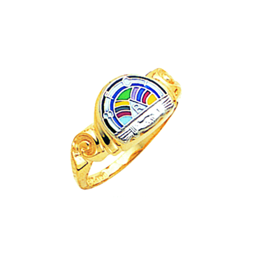 Order of Rainbow Ring - 10K Gold (3)