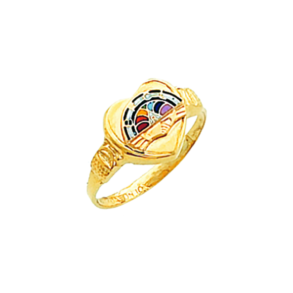 Order of Rainbow Ring - 10K Gold (1)