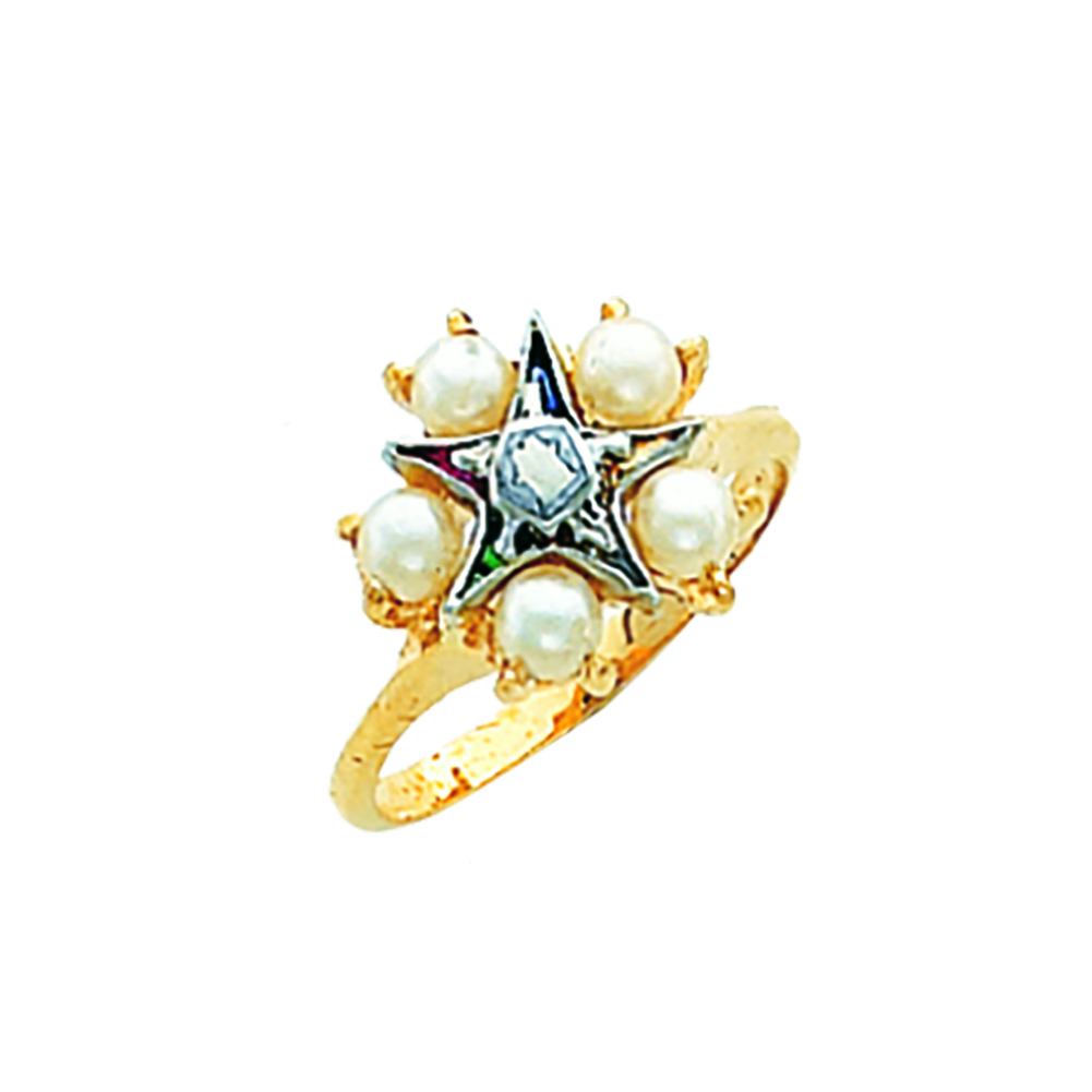 Eastern Star Ring - 10K Gold