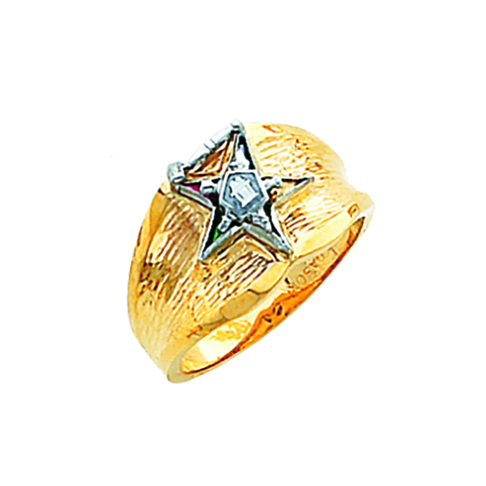 Eastern Star Past Matron Ring - 10K Gold (2)