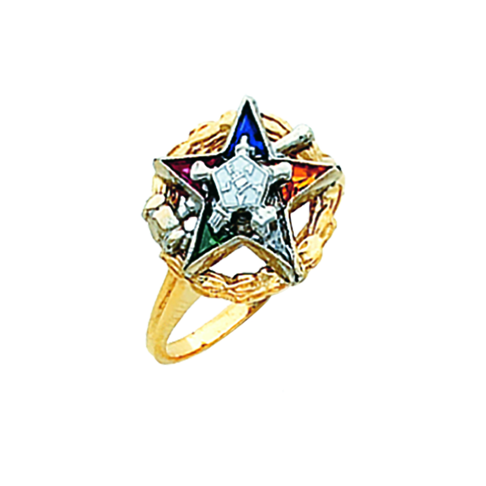 Eastern Star Past Matron Ring - 10K Gold (9)